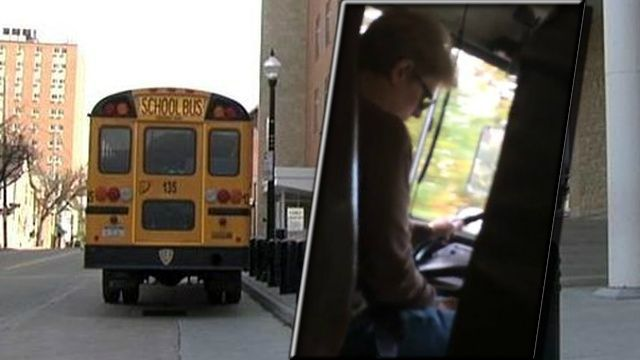 The Bethlehem Area School District is investigating a claim that a school bus driver has been texting while driving students.