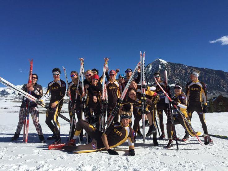UW ATHLETICS: Great pic, University of Wyoming Nordic Ski Club! #SupportWyo