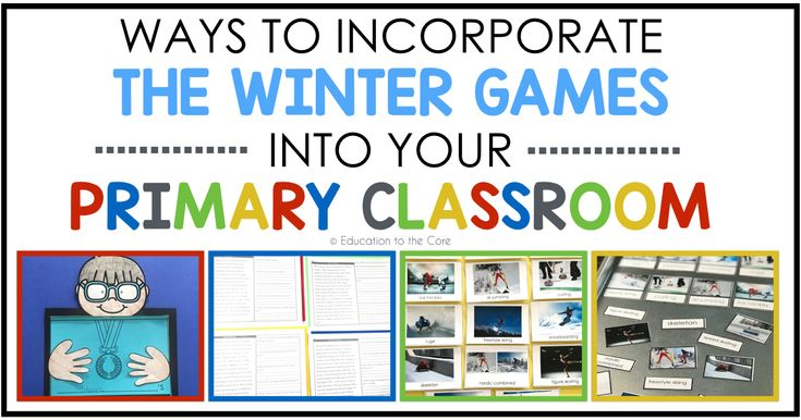 If you are a Winter Games buff like I am, you don't want to miss a second of coverage! I wish the universe would declare a mandatory 2 week break during the games! Anybody with me? #wishfulthinking. But HEY...if you can't stay home to see the games, why not bring them right into your classroom?!