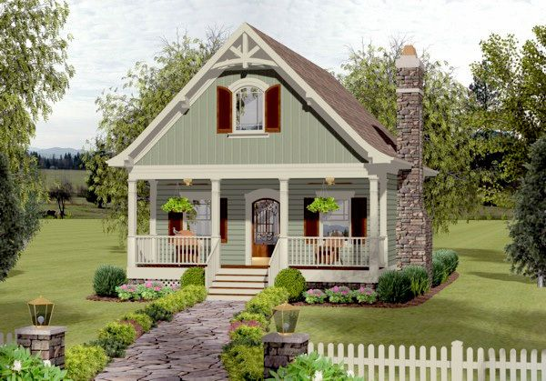 Best 25 guest cottage plans ideas on pinterest small for Www southernlivinghouseplans com