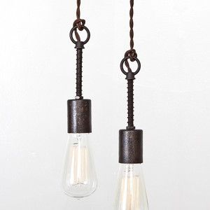 Love this style #stylecure Industrial Spring Pendant Light, $110, now featured on Fab.