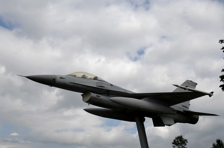 F-16 fighter donated by the USAF
