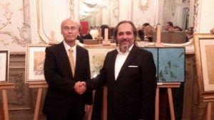 Japonya İstanbul Başkonsolosu Sn. Ehara Norio ve Sn. Erdal Küçükyalçın