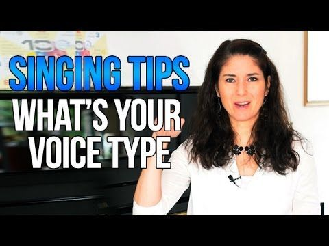 Freya's Singing Tips: What's Your Voice Type?