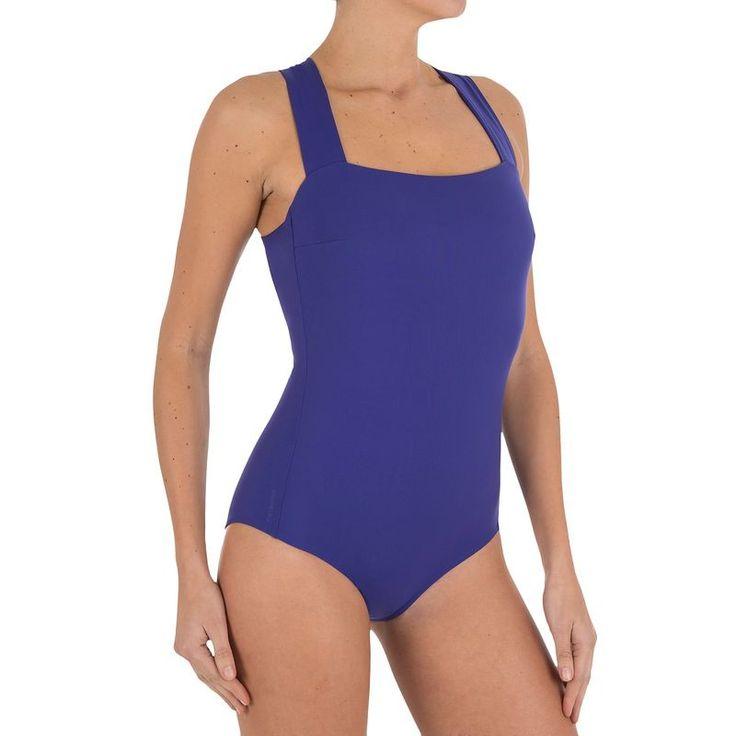 Szörfözés - DINA egyrészes kék fürdőruha TRIBORD