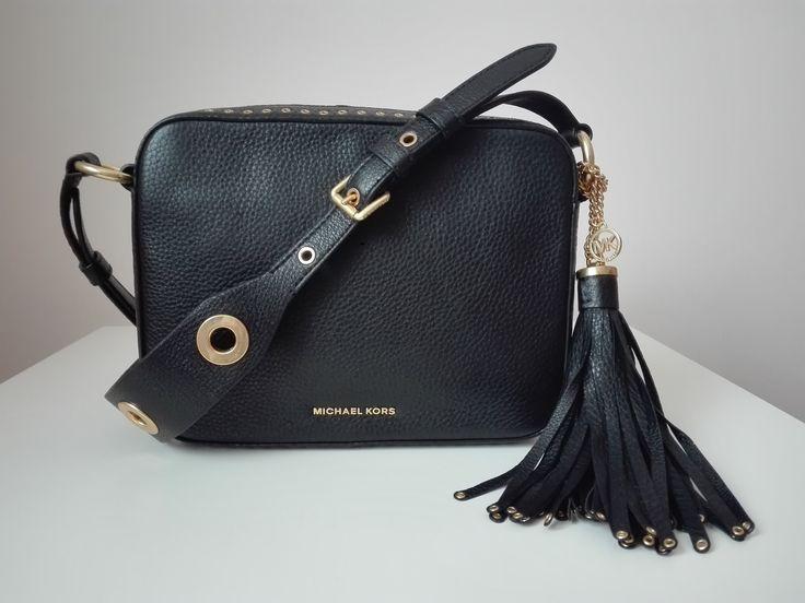 Michael Kors #michaelkors #bag #camera #brooklyn #black #gold Zapraszamy do zakupów