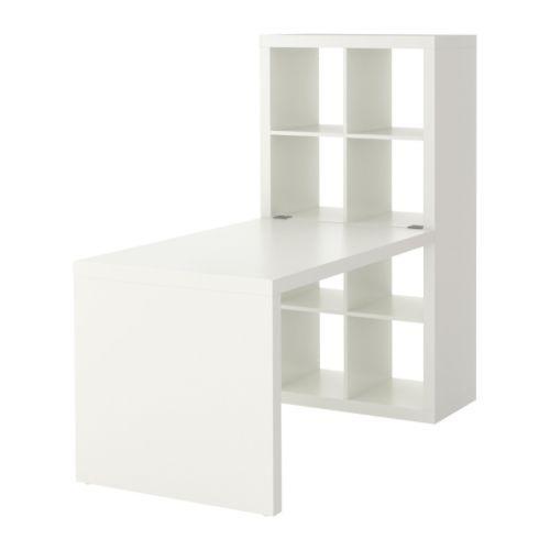 EXPEDIT Workstation IKEA Adjustable feet provide stability on uneven floors.