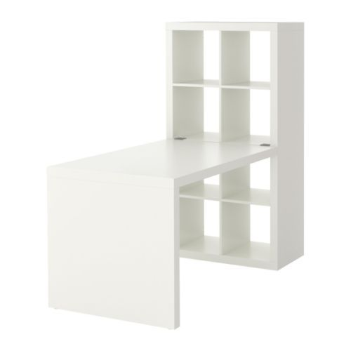 EXPEDIT Workstation IKEA Adjustable feet provide stability on uneven floors.