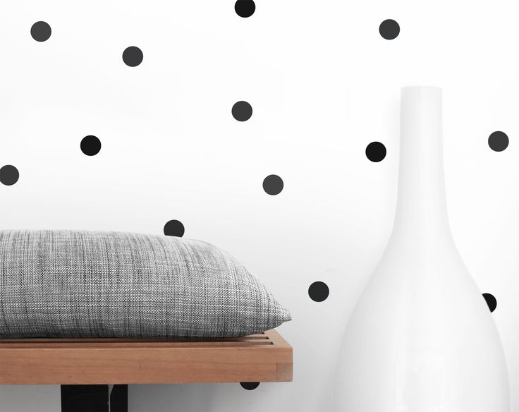 Olli + Lime Dot Decals Black