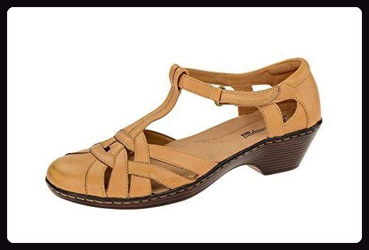 Clarks Wendy Loras Damen Sandaletten Größe 38 Braun (Braun) - Sandalen für frauen (*Partner-Link)
