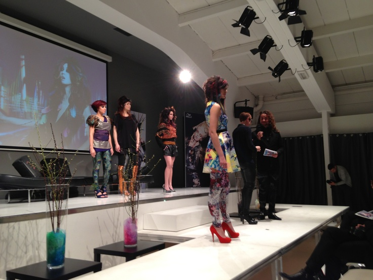 "Wella NL. Trend Vision 2013. "" The sound of color"""