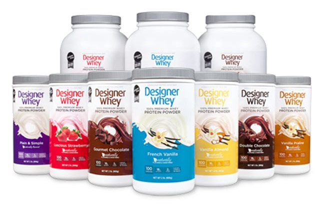 Designer Whey Protein Powder - Personal Trainer Approved! Lots of recipes!!!
