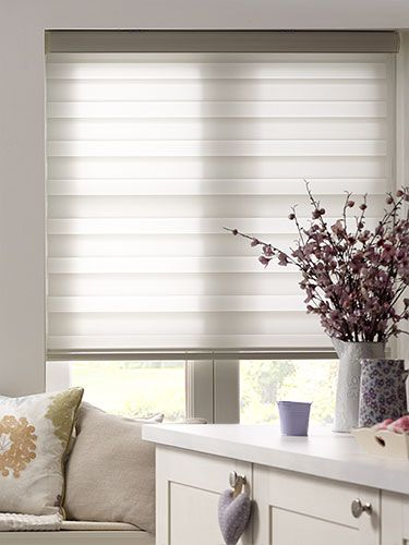 I like this Enjoy Vision White Roller Blind - day to night blinds.