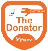 The Donator: Yotomo friend support @YKAKI_Indonesia @ksi Rp.10.000. Thank you for donate! Bagaimana anda dapat membantu? Just click http://www.yotomo.com/ykaki