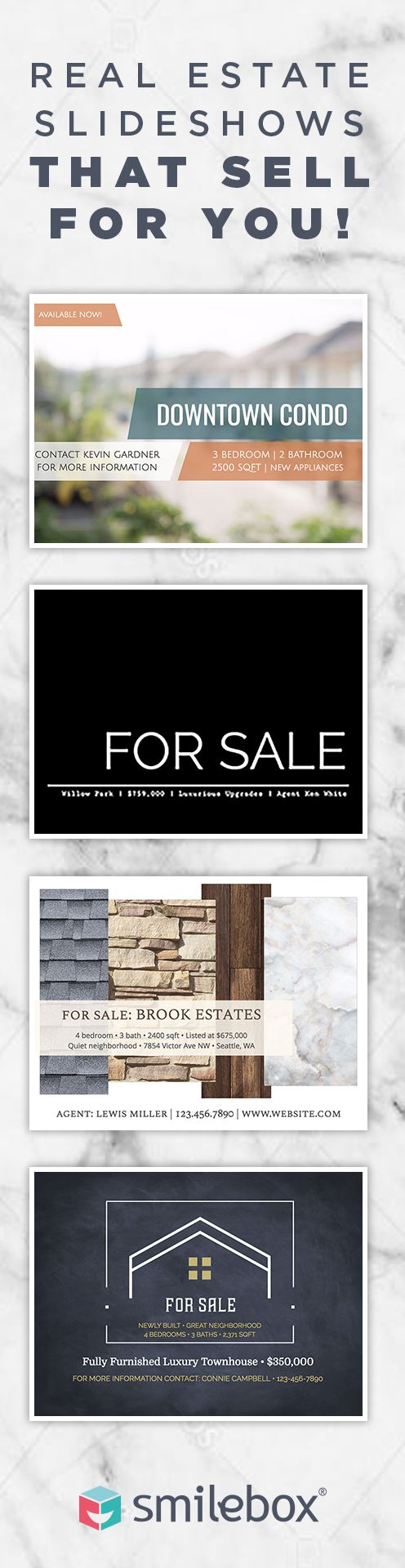Create Stunning Real Estate Slideshows and Increase Your Reach to Clients!smilebox