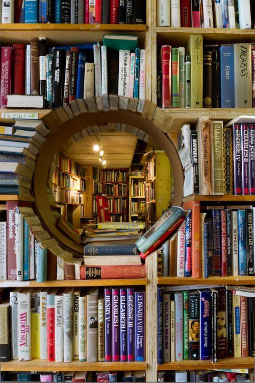 : Libraries, Bookshelves, Reading, Idea, Dream, Bookstore, Portal, House