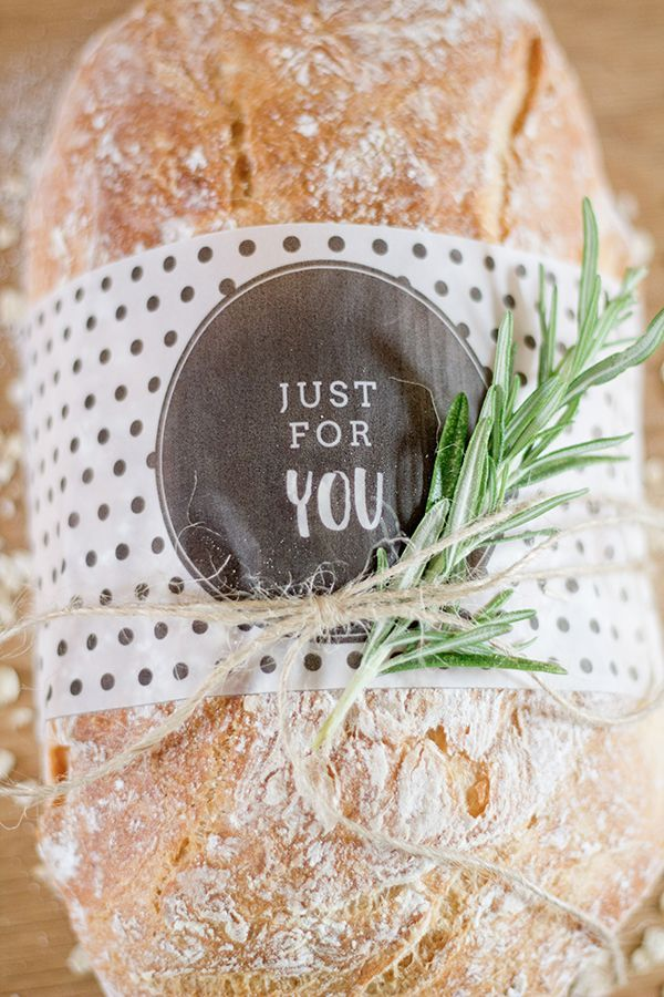Bread sleeve printable