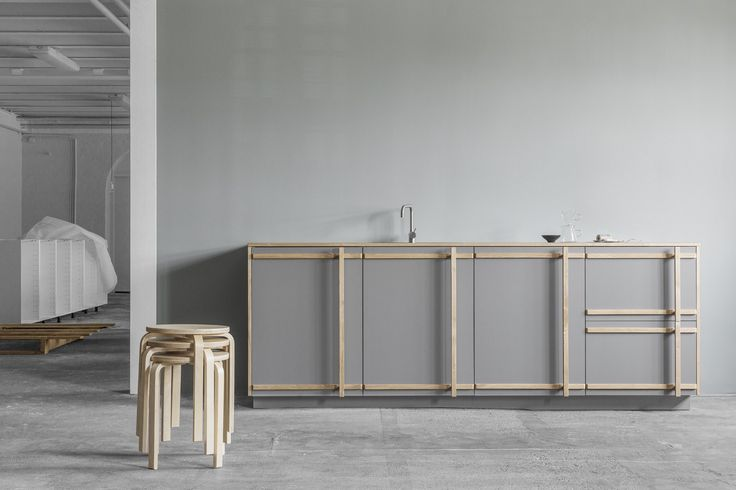 IKEA HACKS by Reform - Afteroom, Denmark l  designer fronts + countertops  to hack, redesign IKEA kitchen units