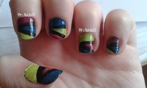 Black nails with lime, pink and blue Find me on... YouTube: https://www.youtube.com/channel/UCCpIMrwzNIFN-D0j6pA44pw  Instagram: https://instagram.com/mrs.natalia01/  Twitter: https://twitter.com/MrsNatalia01