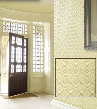 Bella Byzantine Paintable Embossed Walls  [PAINT-6708] All Specialty as of 10/28/2010