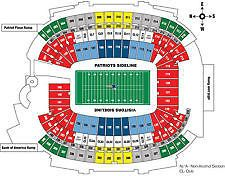 New England Patriots vs Kansas City Chiefs Gillette Stadium Foxboro, Massachusetts Four (4) hard tickets September 7, 2017 The Tickets are together(si... #chiefs #city #kansas #patriots #england