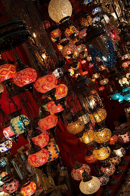 Turkish lamps – i WANT.