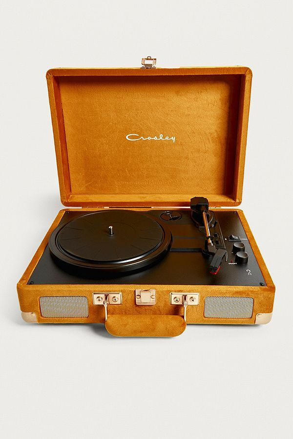 Crosley X Uo Bluetooth Plattenspieler Topaz Velvet Cruiser Vinyl Record Player Record Player Record Player Urban Outfitters