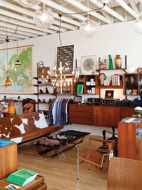 : Amsterdam Modern, Mid Century Modern, Floating Shelves, Shops, Interiors, Mid Century Furniture, Retail Spaces, General Stores, Mohawks General