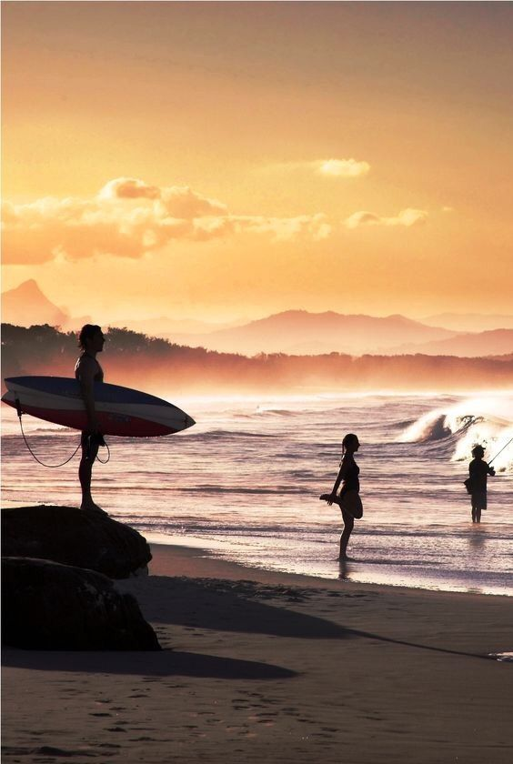 seeking the waves