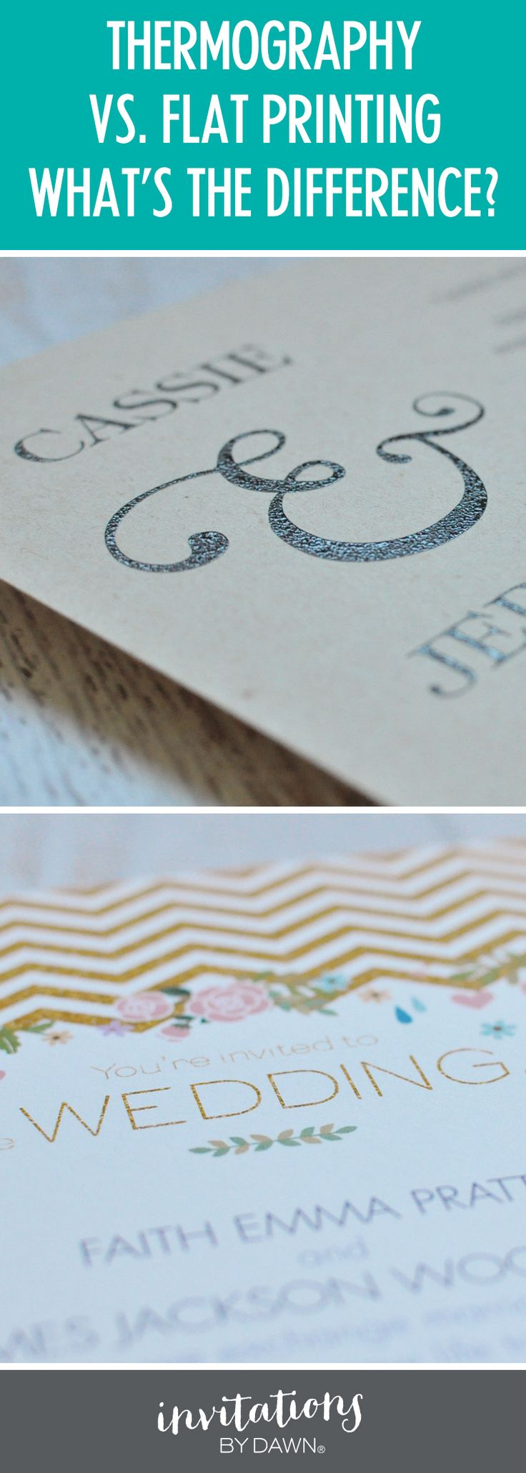 Digitally printed wedding invitations Whatu0027s the difference