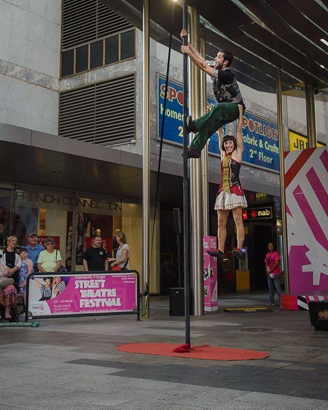 38/100 Street Theatre #100daycreativitychallenge #adlfringe #streettheatrefestival