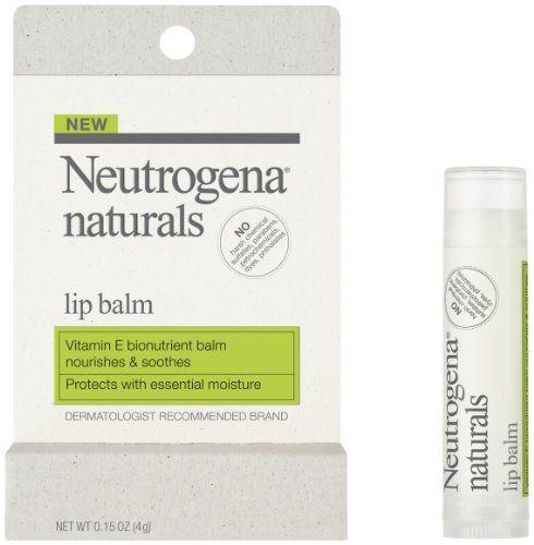 Neutrogena Naturals Lip Balm || Skin Deep® Cosmetics Database | EWG --- (1)
