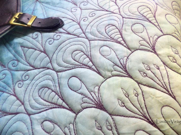 Drawing thread, freeform embroidering by ZerVir