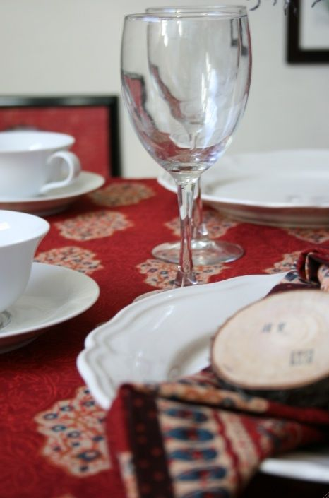 Spice Route Table Cloth + Napkins