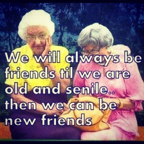 friends lady