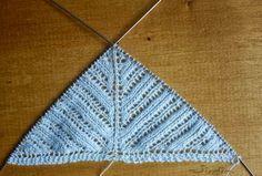 Jicolin minis: Châle triangulaire