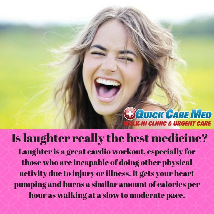 Health benefits of laughter! urgentcare healthcare