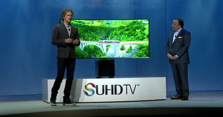 #Liveblog Así nació el diseño del nuevo televisor SUHD de Samsung.