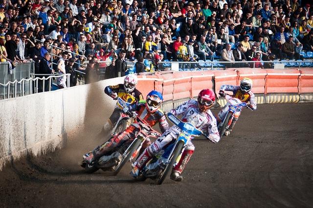 Sparing punktowany - Stal Gorzów vs. Lotos Gdańsk by kulczynski, via Flickr