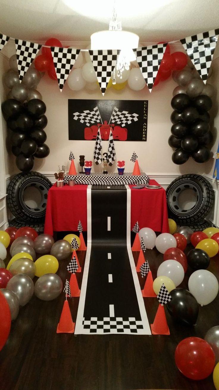 Racing Themed Birthday