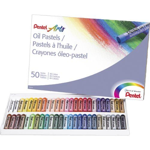 Pentel Arts Oil Pastels, 50 Color Set (PHN-50) Pentel #Amazonbestseller Amazing low price