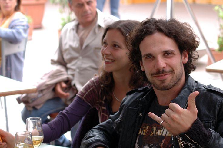 """Francesco Montanari fresco fresco di accademia, quando ancora non era """"il Libanese""""."""