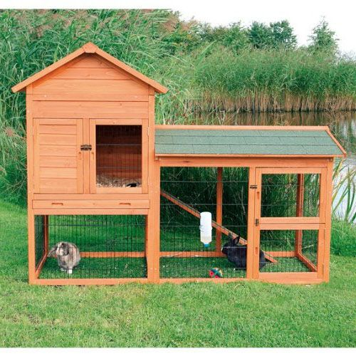 17 best images about rabbit love on pinterest snoopy for Awesome rabbit hutches