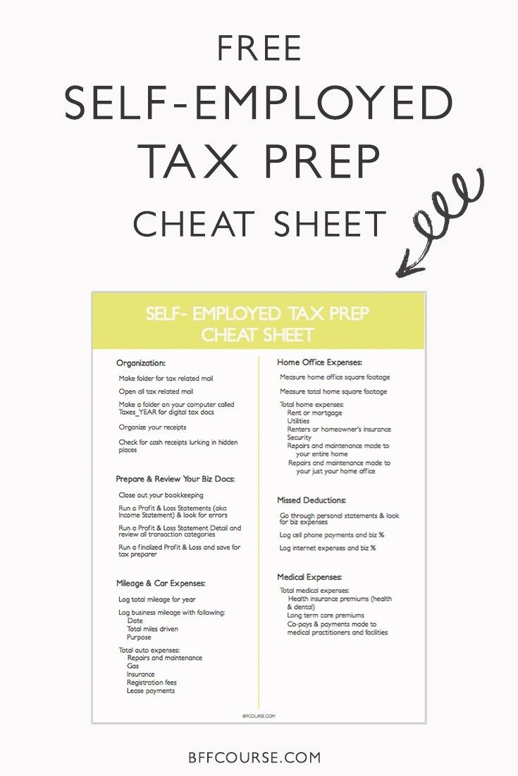 How To Prep For Your Self Employed Taxes A Survival Guide