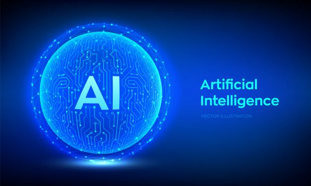 Ai Artificial Intelligence And Machine Learning Background