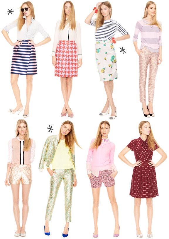 Über Chic for Cheap: Inspired: J.Crew for Spring