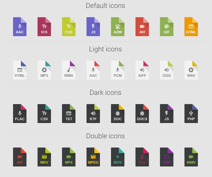 filetype flat icons mime-icon-generator scss css webdesign  mime-icon-generator -  sass flat icon generator Create easily all the icons you need in supersharp SVG format!  DEMO: https://erikyo.github.io/mime-icon-generator/  GIT: https://github.com/erikyo/mime-icon-generator/  Hello everyone! I created this git to generate mime icons with a scss loop. They are completely customizable (color, text, icon) and easy to create.
