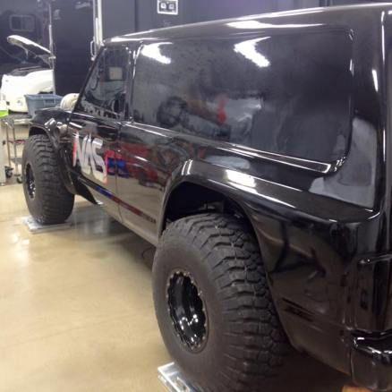 Fully Custom Carbon Fibre truck Body