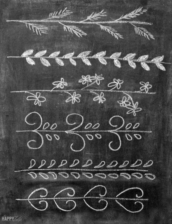 Chalk Embellishments [Chalk Lettering, Part 3]