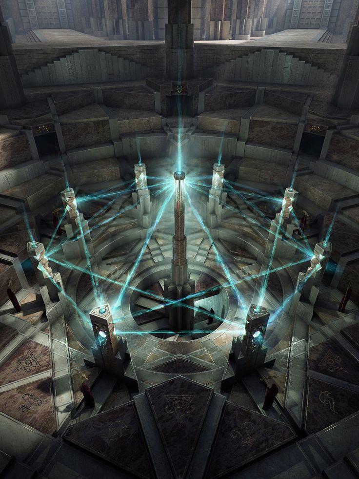 ÎLES OBSCURES - Le Rayonnement des alignements marque le début du voyage vers l'illumination